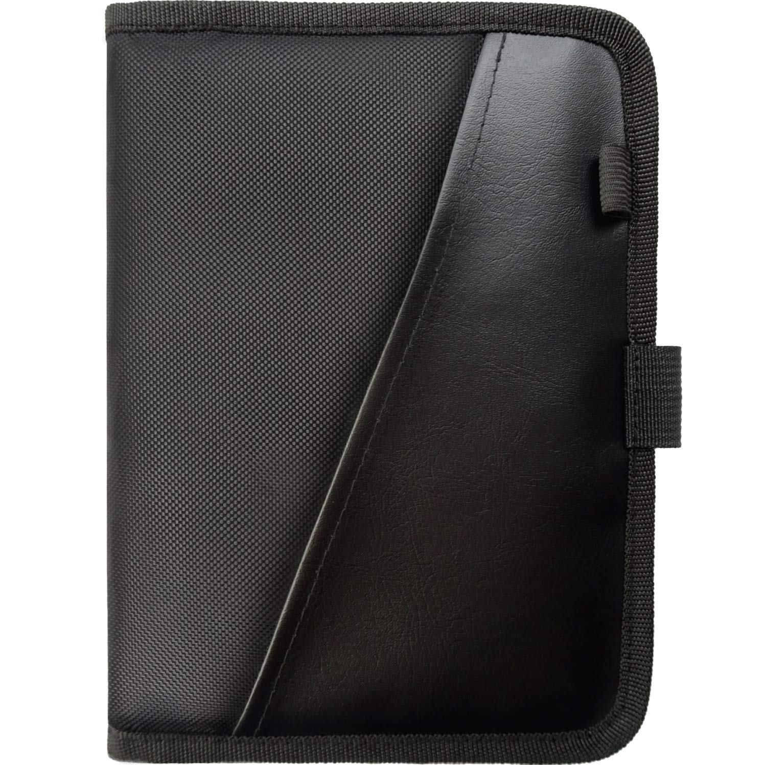 Glove Box Compartment Organizer ~ Car Document Holder ~ Owner Manual Case Pouch ~ Vehicle Storage Wallet for Registration & Insurance Card ~ Premium Auto Paperwork Holder ~ Log Book included