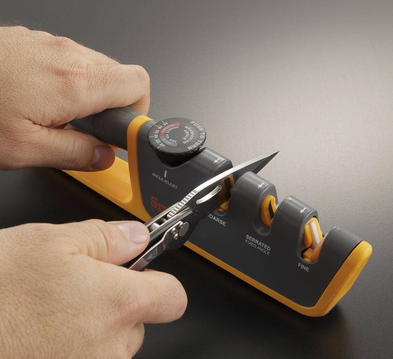 smith s adjustable manual knife sharpener home