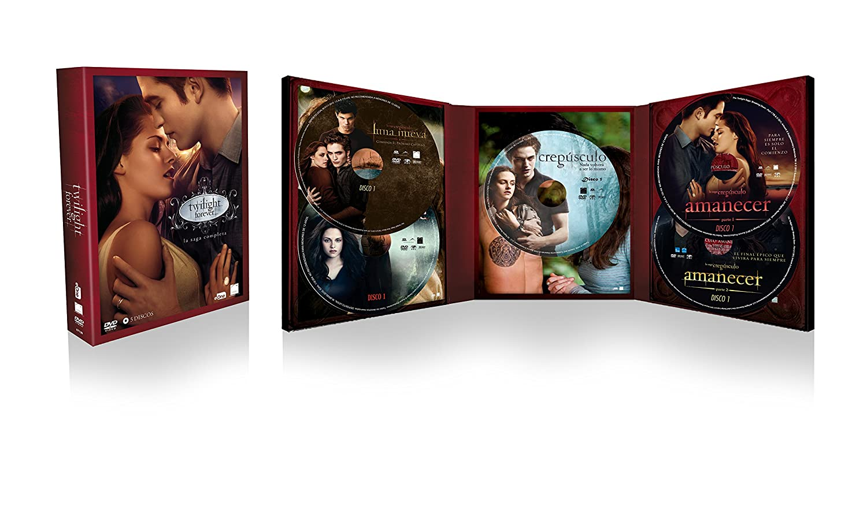 Pack Crepúsculo - Saga Completa (2016) [DVD]: Amazon.es: Kristen ...