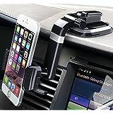 Bestrix Universal Dashboard Smartphone Car Mount Holder, Cell Phone Car Mount, Phone Holder for iPhone X / 8 / 7 Plus / 6S / 6S Plus / Galaxy S8 / S8 Plus / S7 / S7 Edge / LG / Nexus