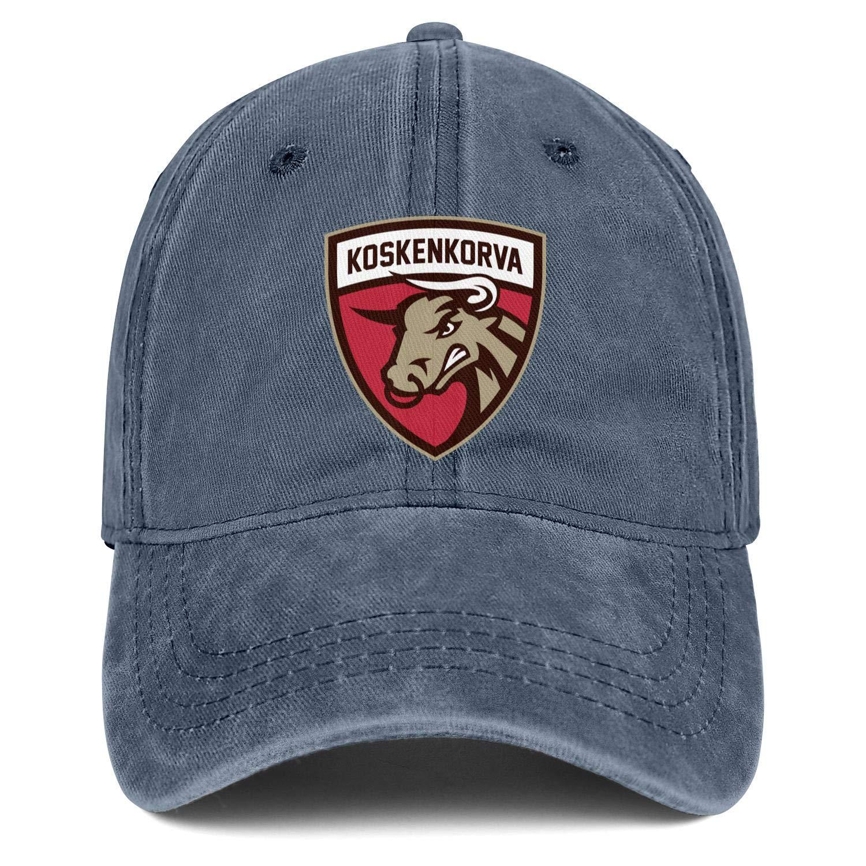 QiLarkin Men Koskenkorva-Logo Popular Sport Hat Baseball Cap Trucker Hat