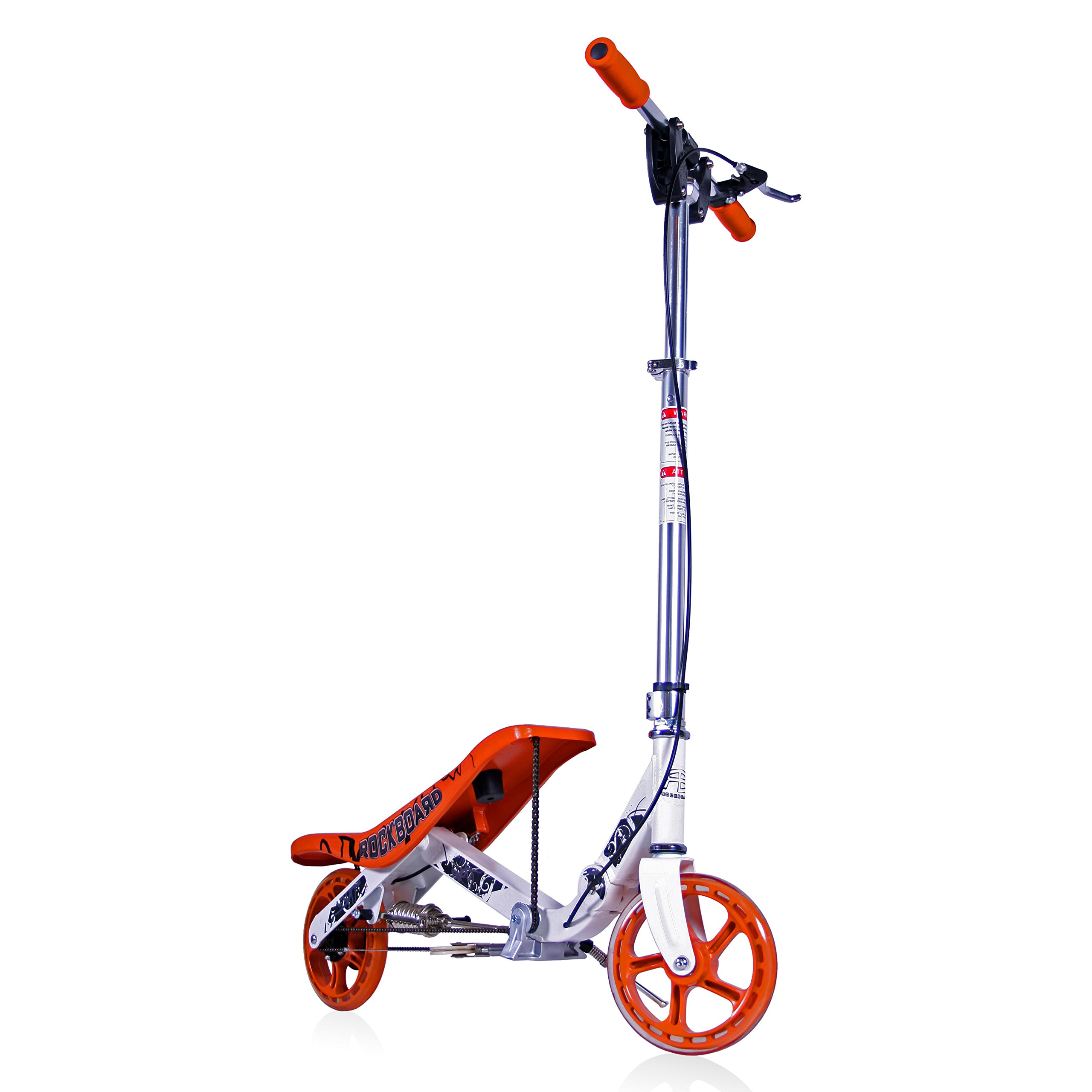 M.Y. Products LLC Rockboard Scooter (Orange) by Rockboard