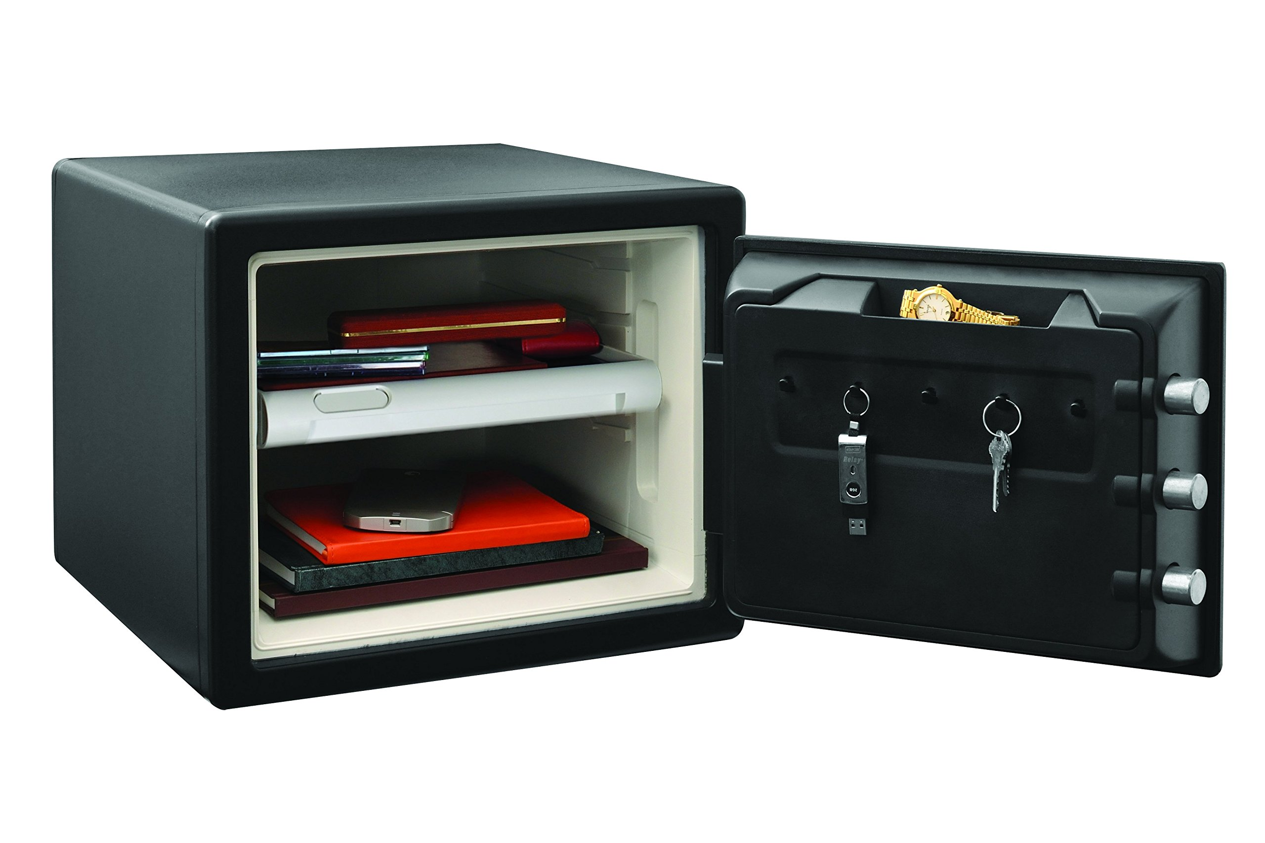 SentrySafe Fire and Water Safe, Large Combination Safe, 0.8 Cubic Feet, SFW082CTB