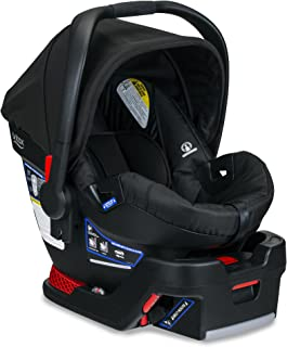 product image for BRITAX B-Safe 35 Infant Car Seat - Rear Facing | 4 to 35 Pounds - Reclinable Base, 1 Layer Impact Protection, Raven (E1A728Y)