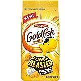 Pepperidge Farm Goldfish Crackers Flavor Blasted Cheddar and Sour Cream, 6.6 oz. Bag