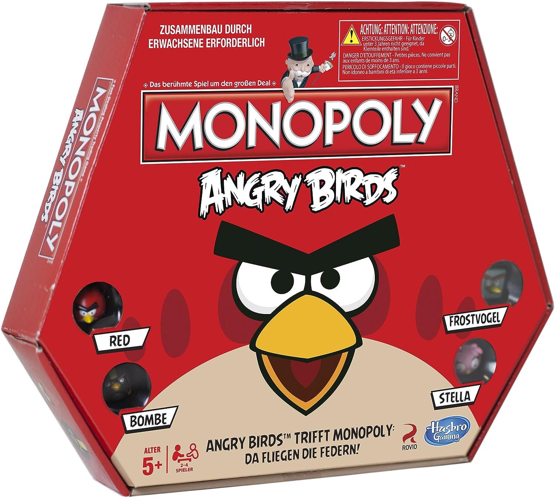 Hasbro Gaming Angry Birds Monopoly: Amazon.es: Juguetes y juegos