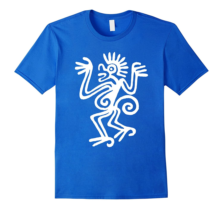 Ancient Monkey T Shirt Mayan Mexican Aztec Vintage Symbol Art