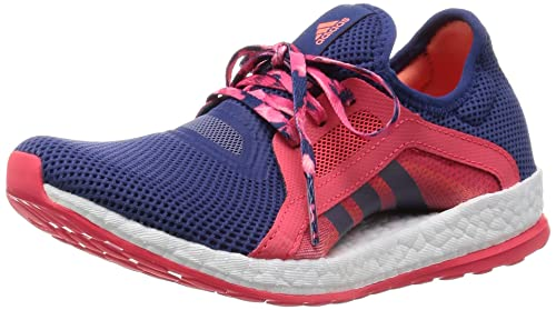 adidas Pureboost X Womens Running Trainer Shoe Purple/Pink - US 6.5