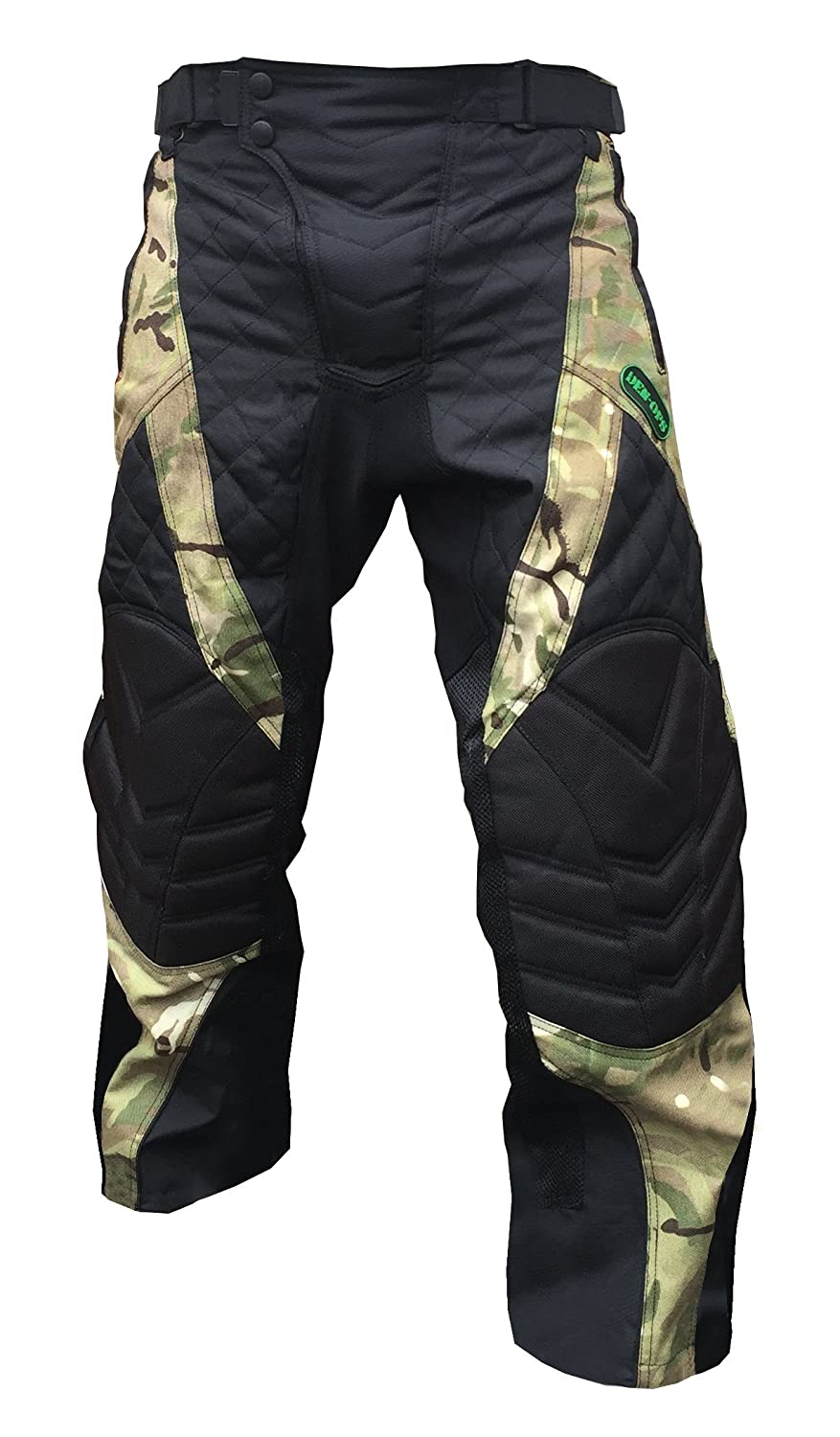 *SALE* CKSN Deniable-Ops Paintball Airsoft Hunting Fishing Pants Black/Desert Camo Trousers Tactical Special Operations Military Paintballing Shooting Clay Metal Detecting - Padded Knees Fully Lined - Lumber Padding and Insulation CKSN Ltd