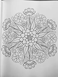 Amazon Flower Mandalas Coloring Book Coloring Is Fun