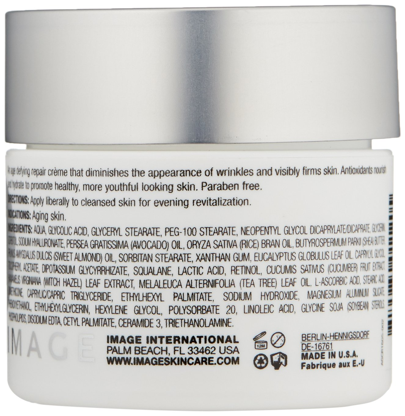 IMAGE Skincare Ageless Total Repair Crème, 2 oz. by IMAGE Skincare (Image #2)