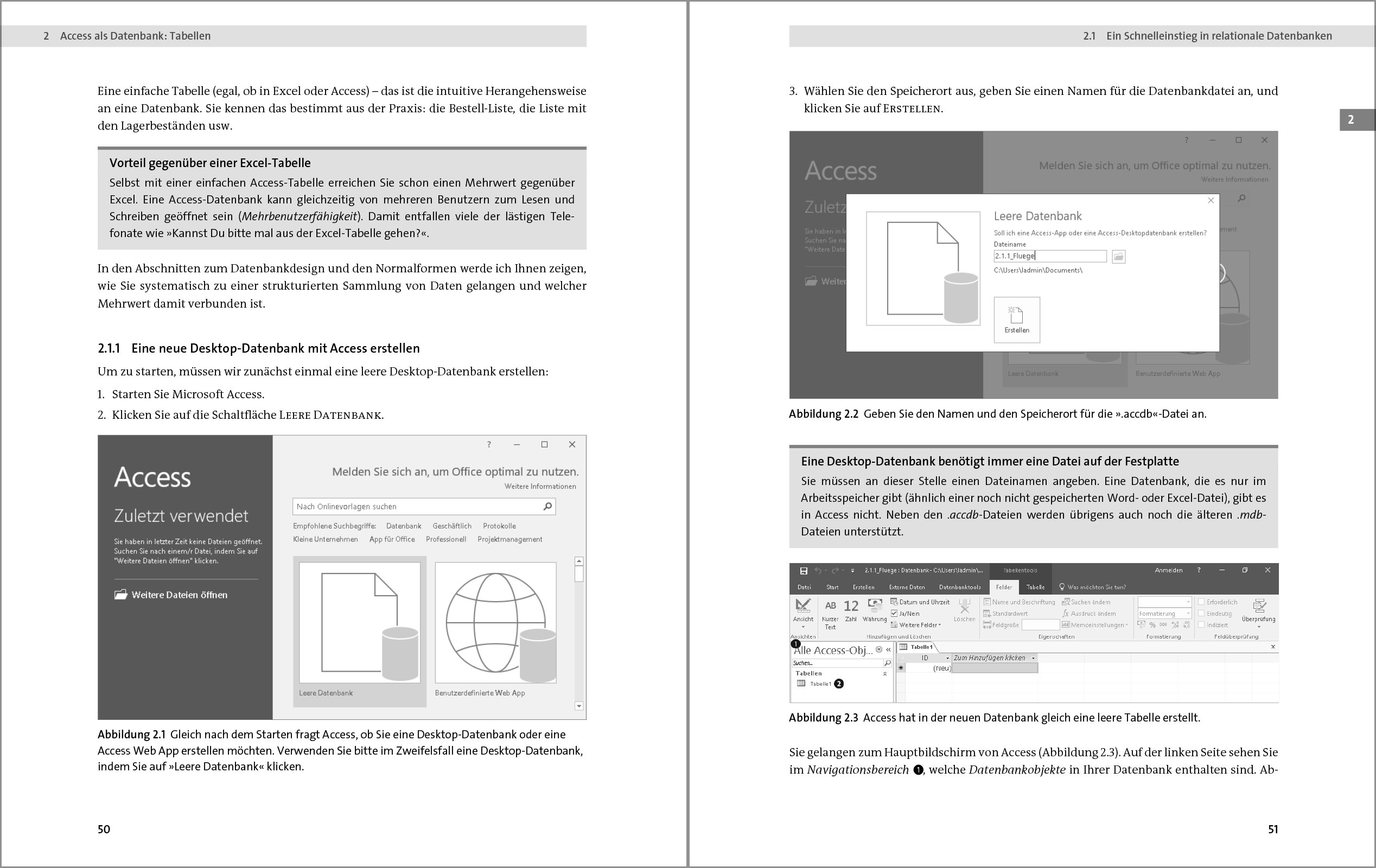 Access 2016: Das umfassende Handbuch. Tabellen, Formulare, Berichte ...