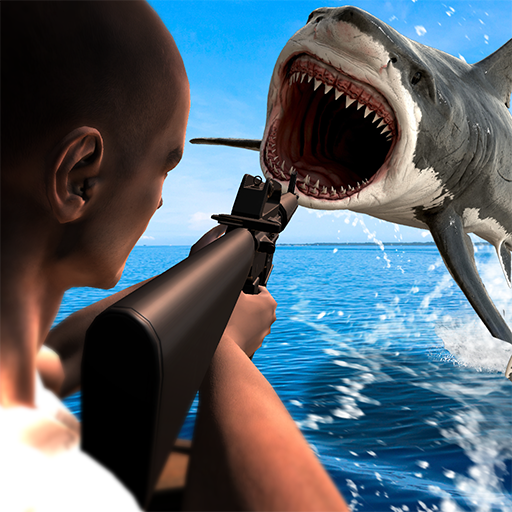 - Underwater Angry Shark Hunting