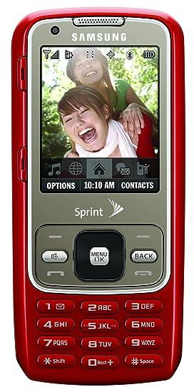 amazon com samsung rant phone red sprint cell phones accessories rh amazon com Samsung Instruction Manual Samsung Fridge Manual