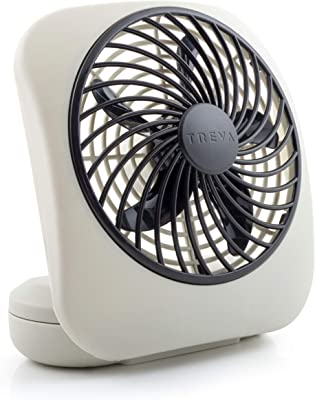 "O2COOL 5"" Portable Fan Battery Powered"