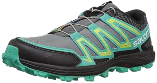 Salomon Speedtrak W, Zapatillas de Trail Running para Mujer, Gris (Monument/Atlantis/Black 000), 40 2/3 EU: Amazon.es: Zapatos y complementos