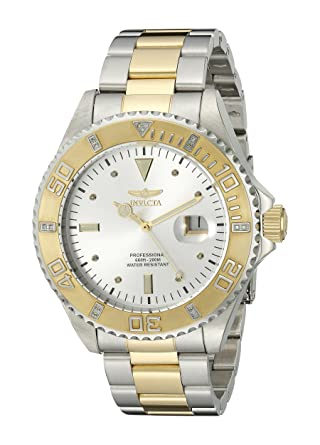 Invicta Analog Silver Dial Men's Watch - 15285