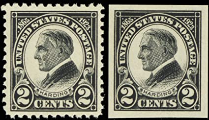1923 2 Cent Harding Memorial Issue Postage Stamps Scott 610 And 611 By USPS