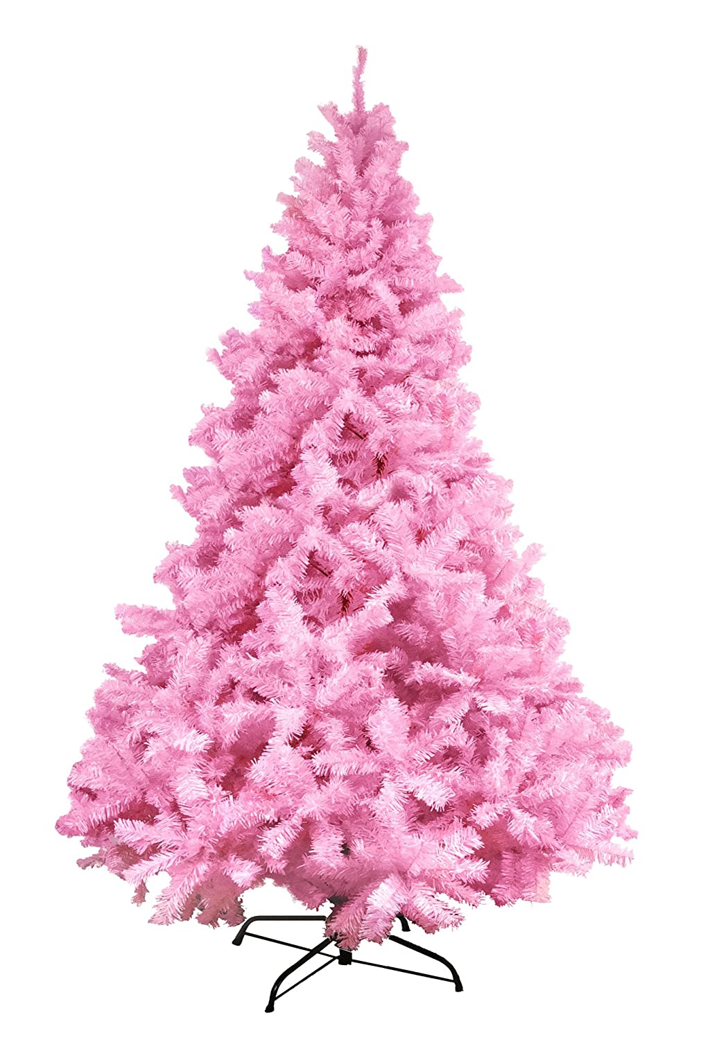 Pink Coloured Christmas Trees