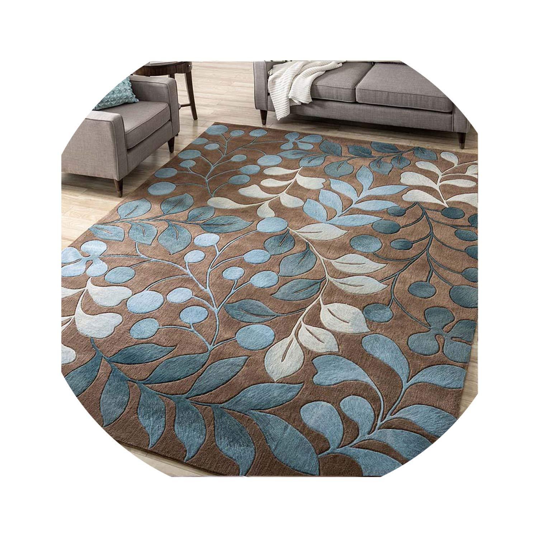 Abstract Flower Art Carpet for Living Room Bedroom Anti-Slip Floor Mat Fashion Kitchen Carpet Area Rugs,01,50 x 80cm