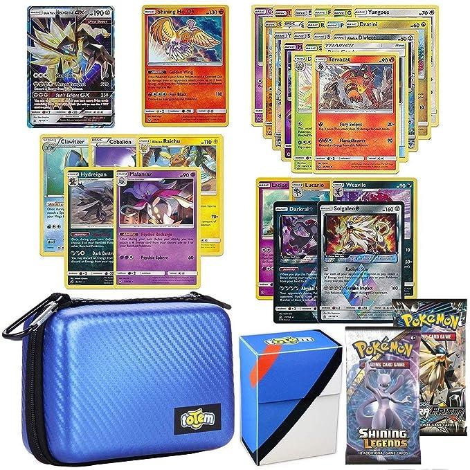 Amazon.com: Totem World - Lote de tarjetas de Pokemon GX con ...