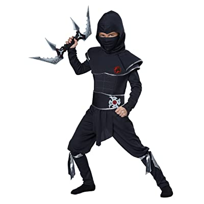 California Costumes Ninja Warrior Child Costume, Large: Toys & Games
