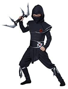 California Costumes Ninja Warrior Child Costume, Large