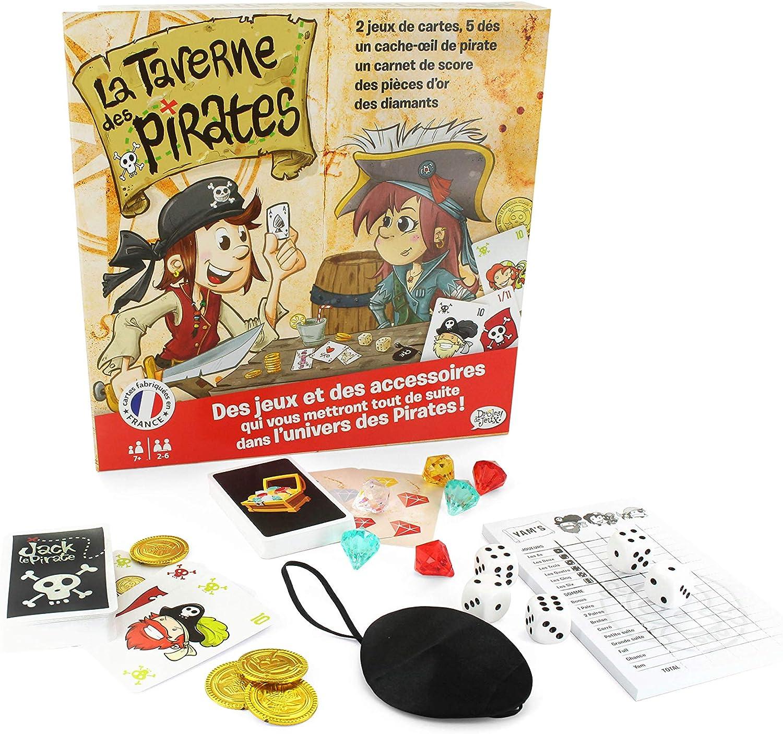 Droles de Juegos 410446 drôle de Juego – la Taverne de los Piratas: Amazon.es: Juguetes y juegos