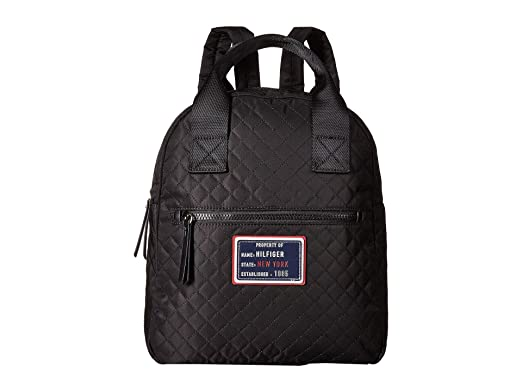 2ae038602 Amazon.com | Tommy Hilfiger Women's Nylon Patch Quilt Large Backpack ...