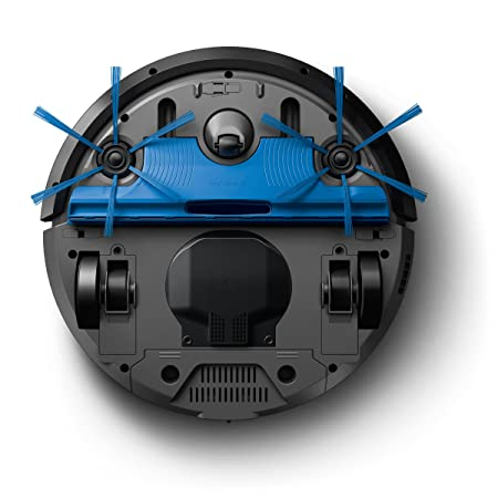 Philips FC8812/01 aspiradora robotizada Sin bolsa Negro, Azul 0,4 L - Aspiradoras robotizadas (Sin bolsa, Negro, Azul, Alrededor, 0,4 L, 58,3 dB, Bounce, ...