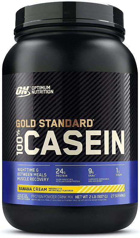 100 % proteína caseína en polvo para bebida, Gold Standard por Optimum Nutrition