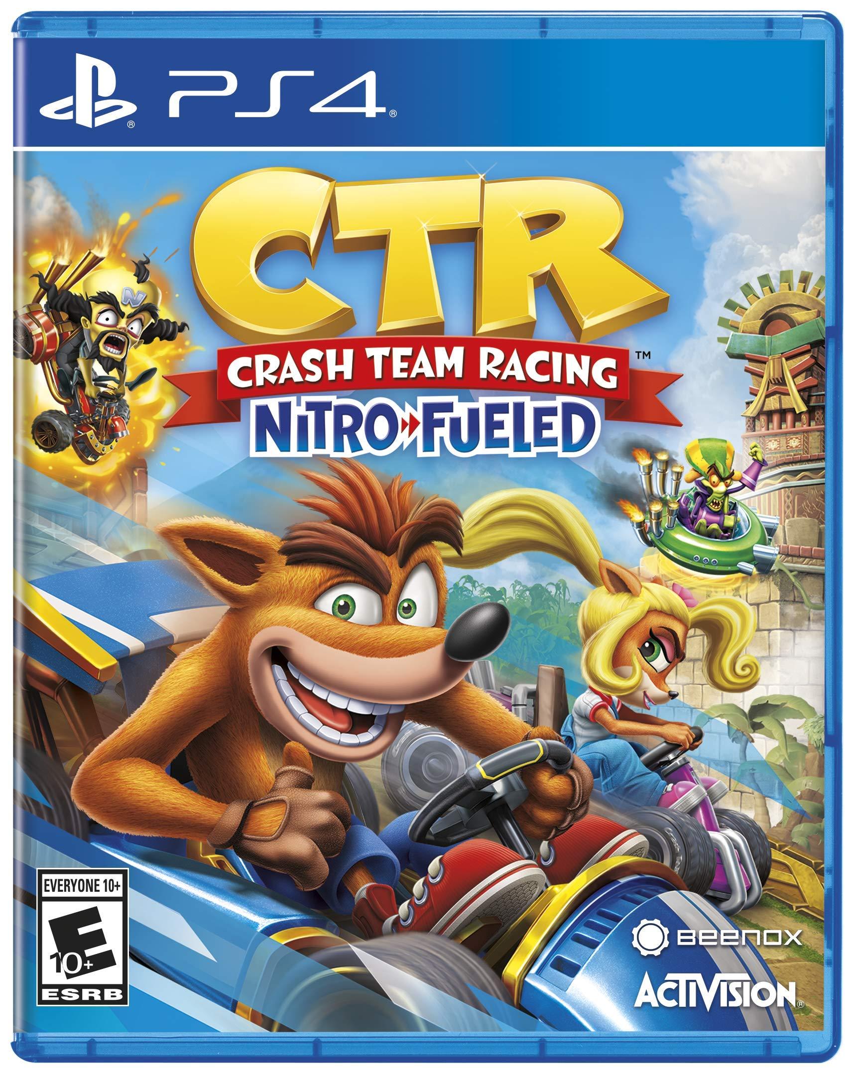 Crash Team Racing - Nitro Fueled - PlayStation 4 by Activision (Image #1)