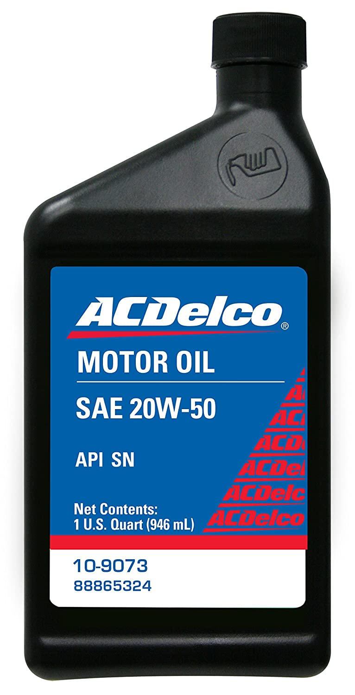 ACDelco 10 – 9073 20 W50モーターオイル – 1 Qt B012U55G9C