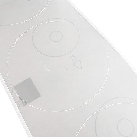 BeMatik - Rollo bobina de 100 etiquetas adhesivas compatibles con ...