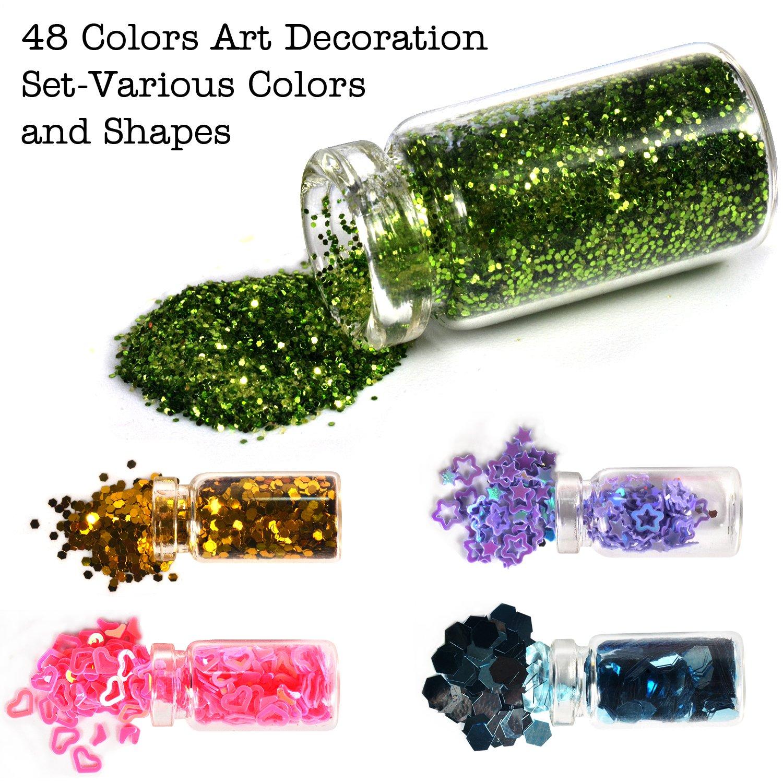 Kit de herramientas para decoración de uñas de Imanom, 48 unidades ...