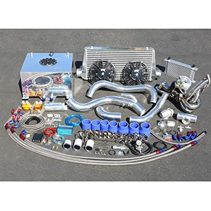 Amazon.com: For Nissan S14 KA24 Engine High Performance 22pcs T25 Turbo Upgrade Installation Kit: Automotive