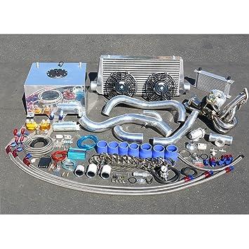 Nissan S14 KA24 Motor de alto rendimiento 22 piezas T25 Turbo Upgrade Kit de instalación: Amazon.es: Coche y moto