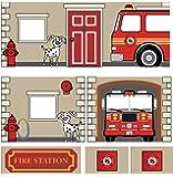 Dorel Home Produkte Vorhang Set für Junior Loft Bett, Feuerwehr
