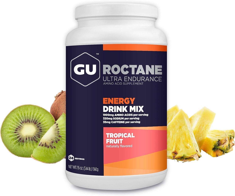 GU Energy Roctane Ultra Endurance Energy Drink Mix, 3.44-Pound Jar, Tropical Fruit: Health & Personal Care