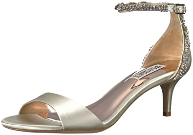 3fdb027cad5 Amazon.com  Badgley Mischka Women s Yareli Heeled Sandal  Shoes