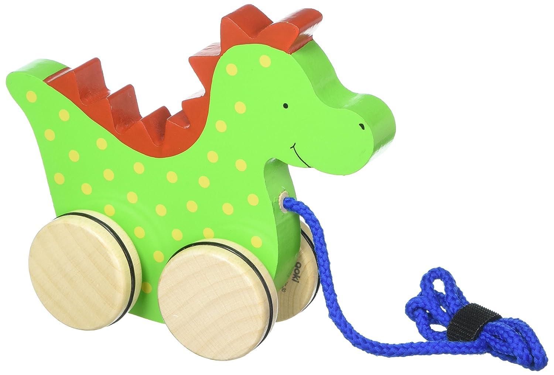 Goki 54954 - Ziehtier Drache Saro Für Babys ab 12 Monaten Non Books Non Books / Spielzeug
