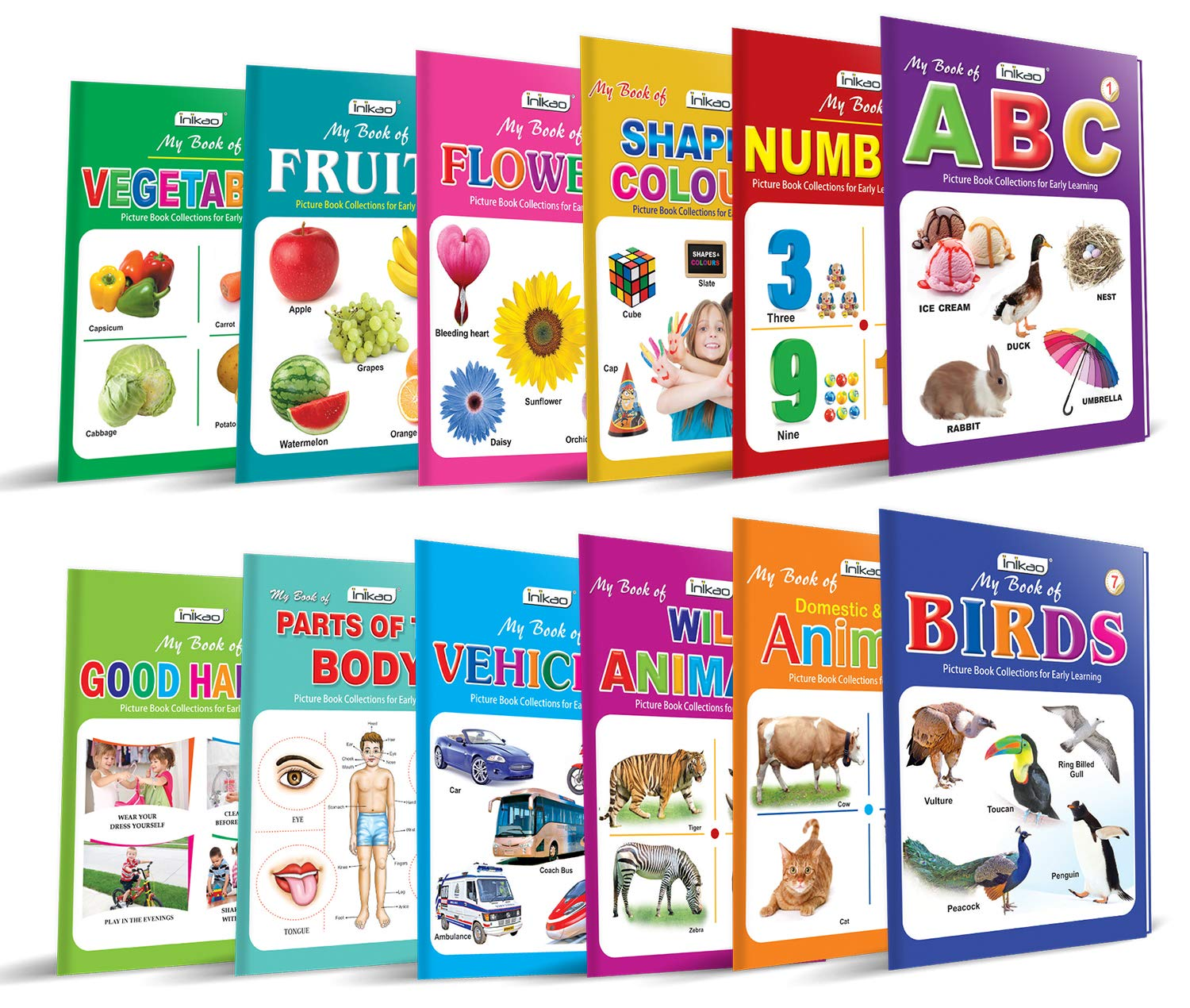 Picture Books Collection for Early Learning (Set of 12) Cards – 1 January 2016