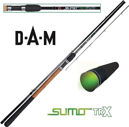 DAM Sumo TRX Float - Caña de pescar para pesca de flotador (7-18 g, 3 piezas)