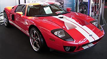 Laminated X Poster Ford Gt