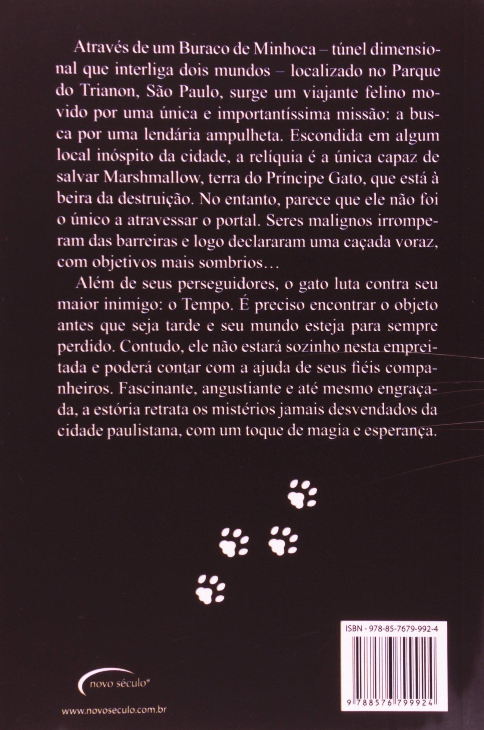 O Príncipe Gato. E a Ampulheta do Tempo - Conforme Nova Ortografia (Em Portuguese do Brasil): Bento de Luca: 9788576799924: Amazon.com: Books