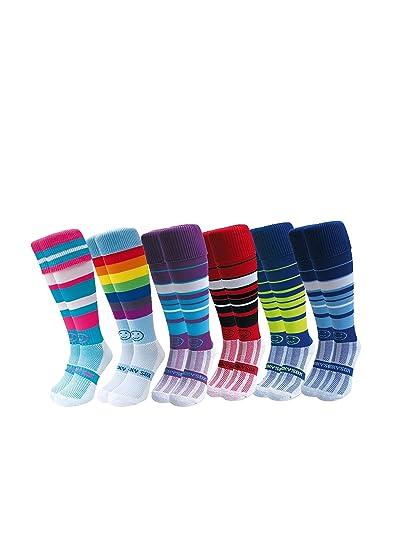 Micro Mayhem Hockey Socks WackySox 3 Pair Saver Pack Rugby Socks