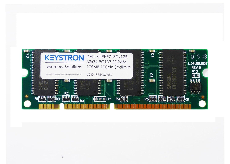 128MB PC133 100pin Memory Upgrade for Dell 1600n MFP M5200 Laser Printer ( Dell pn: SNPHF713C/128) at Amazon.com