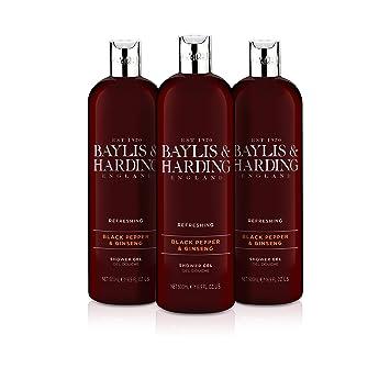 Smuk Baylis & Harding Black Pepper Moisturising Shower Gel, 500 ml DL-03
