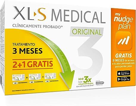 Xls Pack 3 Meses Xls Medical Original Captagrasas 800 g: Amazon ...