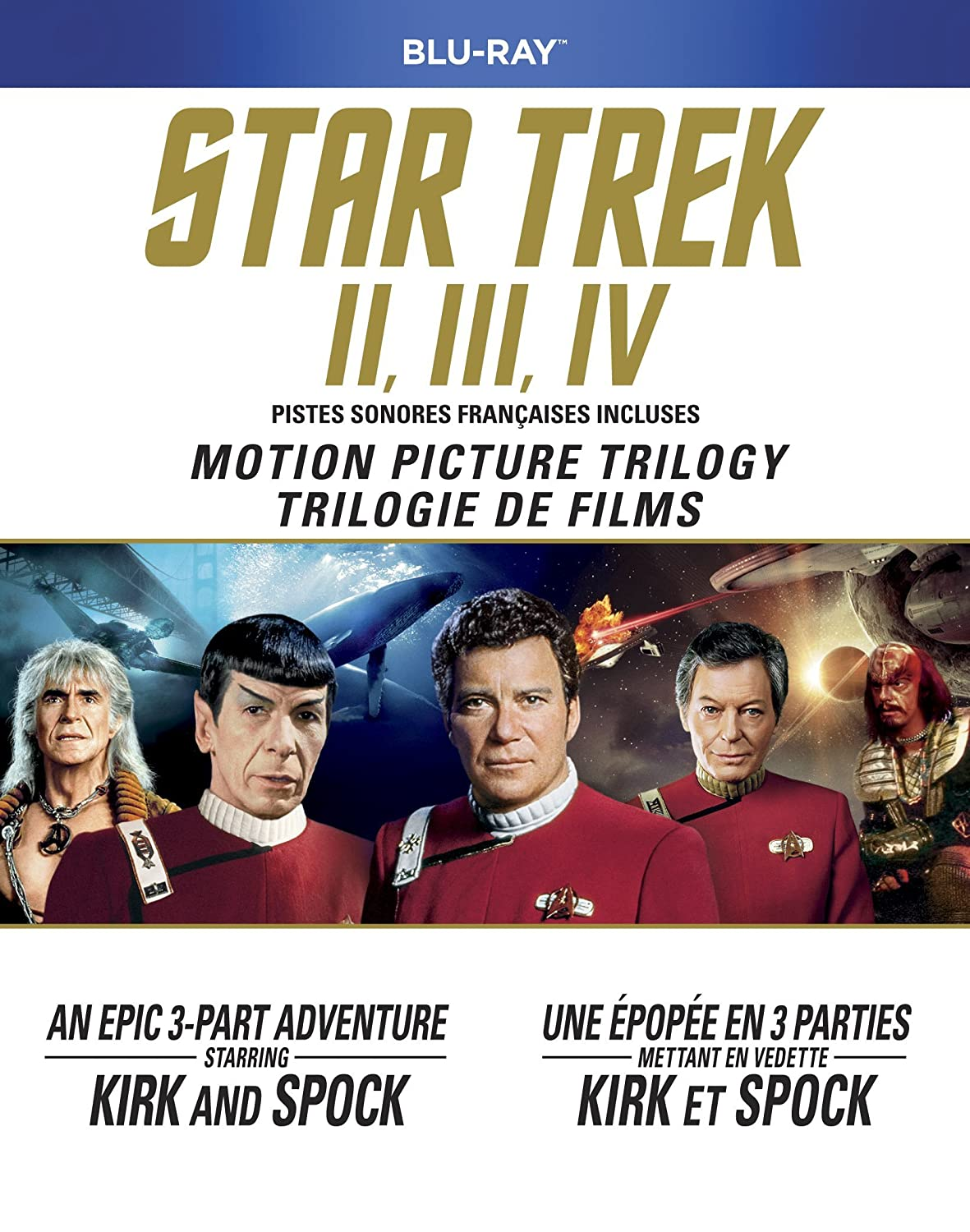 Star Trek Motion Picture Trilogy (The Wrath of Khan / The Search for Spock / The Voyage Home)